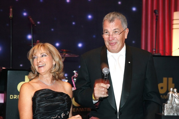 <p><p>Rainbow Ball Family Award honorees Karen Model, Abramson Center Auxiliary member, and her husband, Neil Model, associate secretary of the Center's board of trustees (Photo courtesy of Scott Weiner)</p></p>