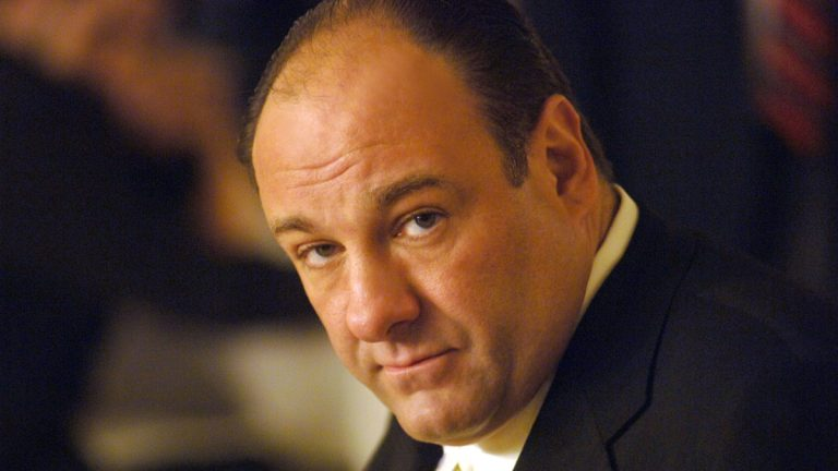 This undated publicity photo shows actor James Gandolfini in his role as head of the New Jersey crime family portrayed
