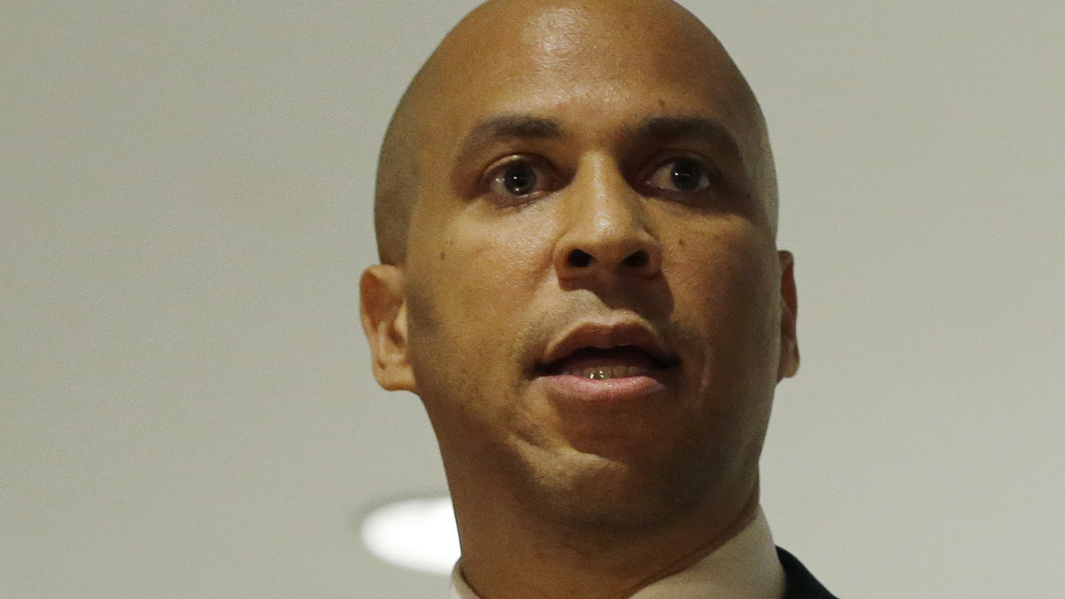 """booker jewish personals Long considered a close friend of israel and a trusted ally of the jewish community, sen cory booker (d-nj) has come under fire for appearing in a photo holding a sign that read, """"from."""