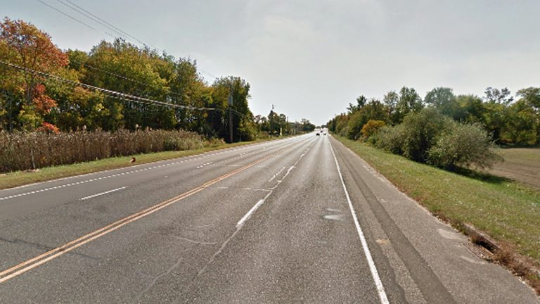 On Sept 9, 2013, a tractor-trailer hit a farm tractor and a car killing one man near this section of Route 73 in Winslow Twp.