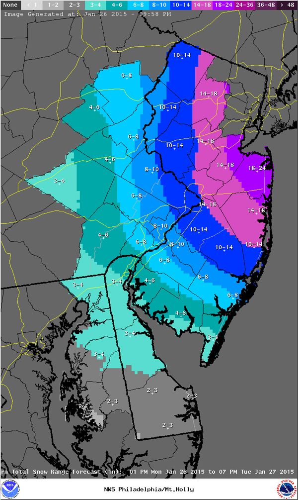 20150127 nws latest snowfall map 1200