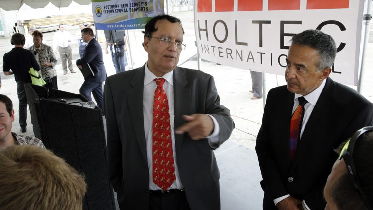 Holtec International will get $260 million in tax breaks to open a new facility in Camden. (AP Photo/Mel Evans)