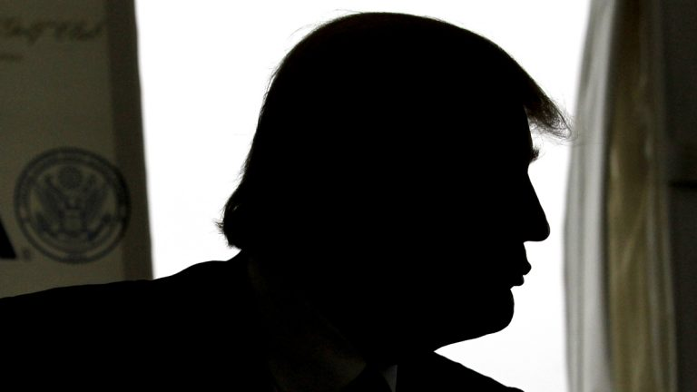 Donald Trump appears during a news conference, Thursday, May 3, 2012 (AP Photo/Julio Cortez, fle)