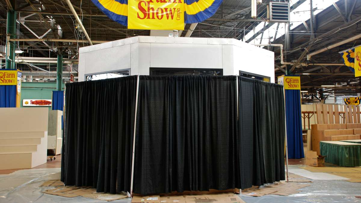 The theme of the 2016 Pennsylvania Farm Show butter sculpture is a closely guarded secret until the unveiling press conference on Thursday.