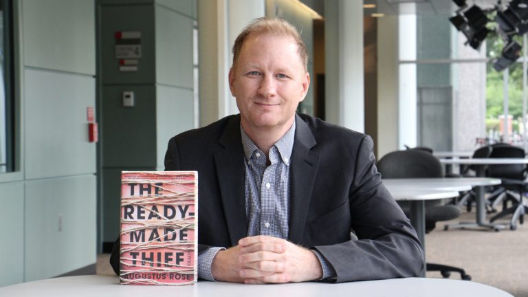 Augustus Rose is the author of ''The Ready-Made Thief,'' his first novel. (Emma Lee/WHYY)