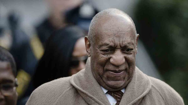 A Dec. 13, 2016  photo shows Bill Cosby leaving the Montgomery County Courthouse in Norristown. (AP Photo/Matt Rourke)