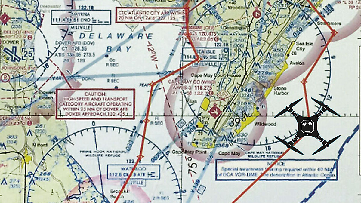How New Jersey Is Trying To Become The Silicon Valley For The - Drone ban map