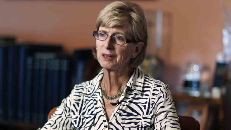 File Photo: Former New Jersey Gov. Christie Todd Whitman at Pontefract, her home, Tuesday, June 21, 2016, in Tewksbury, N.J. (AP Photo/Mel Evans)