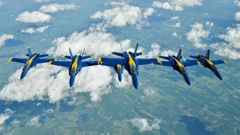 The Blue Angels. (Photo courtesy of U.S. Navy)