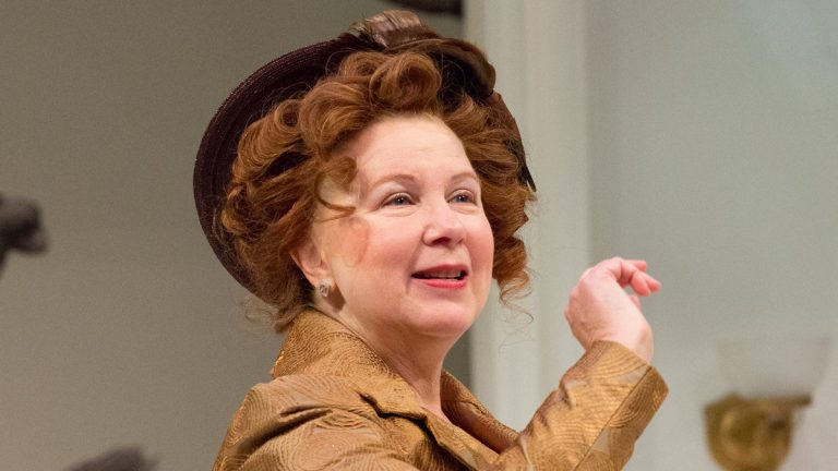 Kathryn Petersen as Dolly in the People's Light production of 'The Matchmaker.' (Photo courtesy of Mark Garvin)
