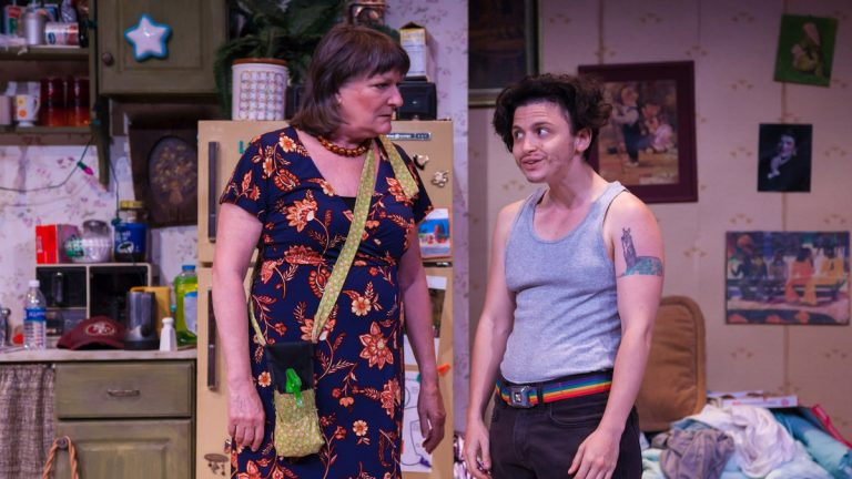 Marcia Saunders and Eppchez! in Simpatico Theatre's production of 'Hir.' (Photo courtesy of Daniel Kontz)
