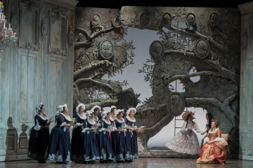 The highly acclaimed production of Mozart's comic opera
