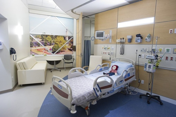 <p><p>A look at what the new rooms will look like when construction is finished. (photo courtesy Nemours)</p></p>