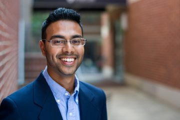 Akbar Hossain, age 26, is a Muslim immigrant from Bangladesh, a P.D. Soros Fellow at the University of Pennsylvania Law School, and a recent appointee to the Norristown Planning Commission. (Courtesy of Penn Law)