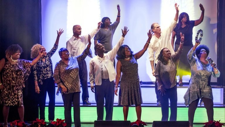 Triumph Baptist Church in Philadelphia will present the musical 'Alive!' featuring the talents of singers 55 years and older. (Alive 55, Kickin')