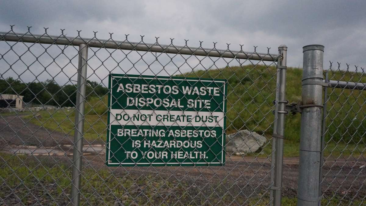 Asbestos cleanup in Ambler nears completion [photos] - WHYY