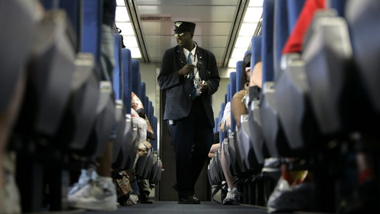 Are you sure you know which way this train is headed? (AP Photo/Jeff Roberson, file)