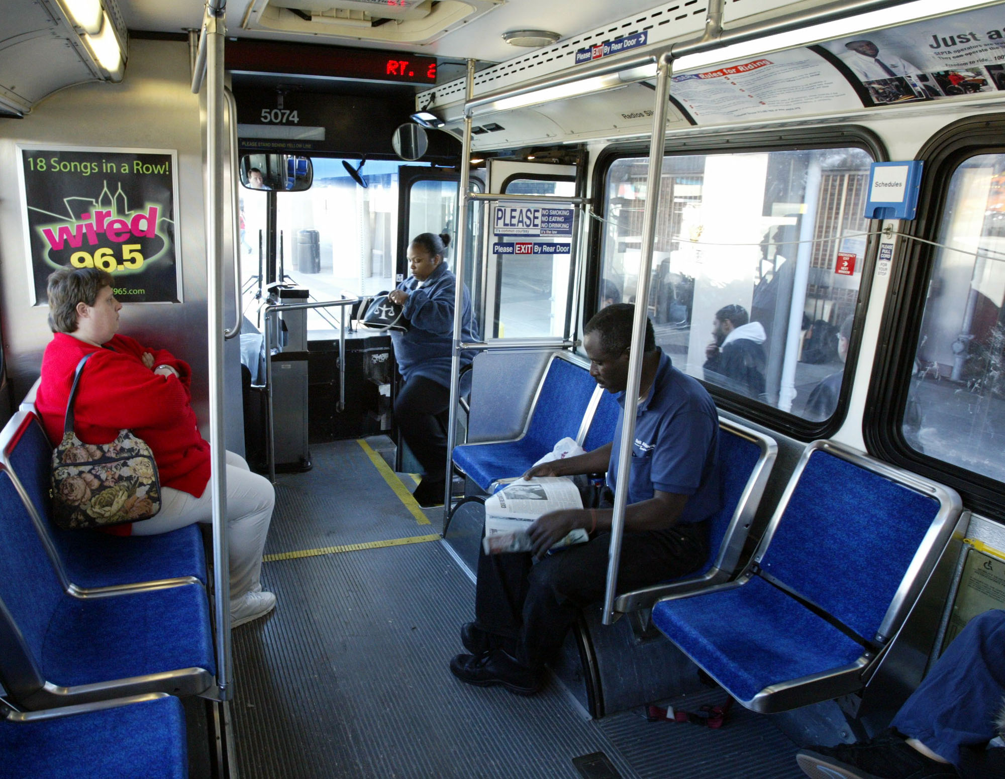 Public Transportation Ridership Down Only Slightly Across