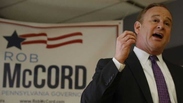 Former Pennsylvania State Treasurer Rob McCord ha admitted he crossed the line  while raising money in the governor's race. Is that par for the course in Pennsylvania politics? (AP file photo)