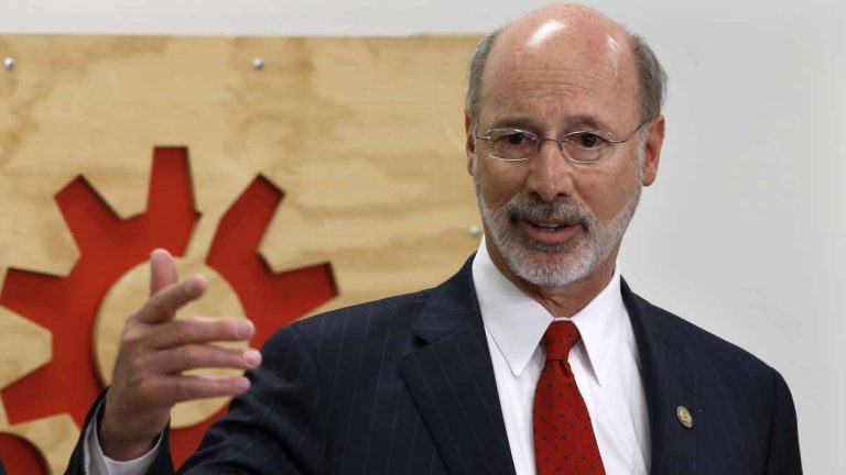 Gov. Tom Wolf is dismissing a plan passed by Pennsylvania's Senate Wednesday to close the state's traditional public pension systems to additional entrants and cut retirement benefits for current employees. (AP file photo)