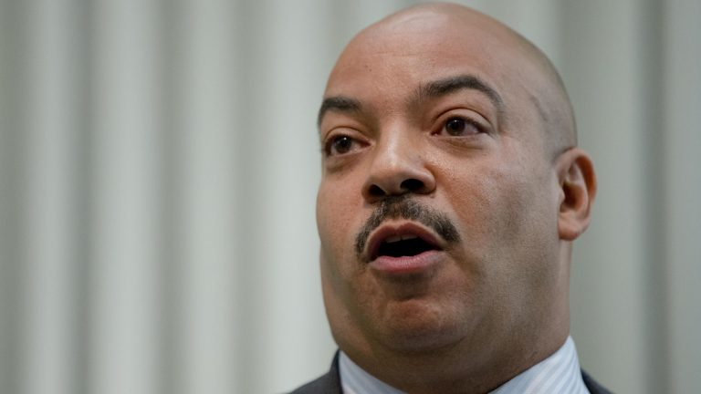 Philadelphia District Attorney Seth Williams has filed suit against Pennsylvania Gov. Tom Wolf over the governor's death penalty moratorium. The case is before the state's Supreme Court. (AP photo, file)