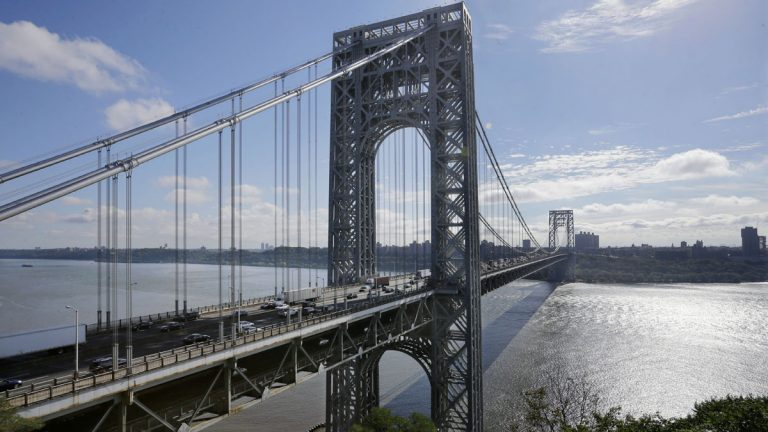 Democrats who control New Jersey's Senate intend to try overriding Gov. Chris Christie's veto of measures calling for reforms at the Port Authority of New York and New Jersey, the agency that operates the George Washington Bridge. (AP file photo)