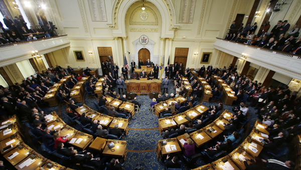 N.J. Senate will forgo long summer break (Mel Evans/AP Photo, file)