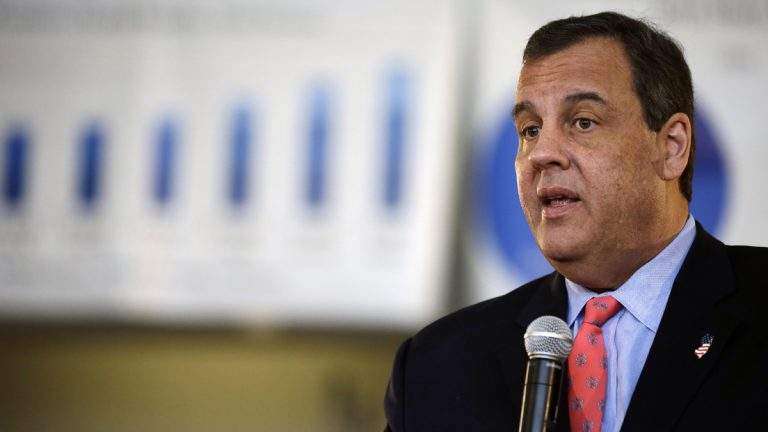 New Jersey Gov. Chris Christie, speaking during a town hall meeting in Fair Lawn in March, is expected to veto the Democrats budget plan and its tax increase on millionaires and businesses. (AP file photo)