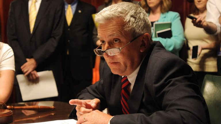State Sen. Mike Folmer, R-Lebanon, is a proponent of legalizing medical marijuana in Pennsylvania.  (AP photo/Bradley C Bower)