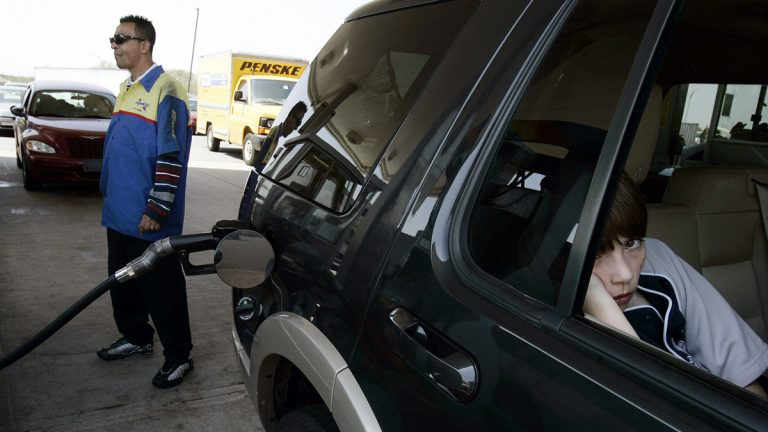 Motorists n New Jersey could pay 23 cents more per gallon of gas if a compromise plan to restock the state Transportation Trust Fund is approved. The plan also calls for a series of tax cuts. (AP file photo)