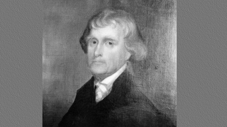This is an original portrait of Thomas Jefferson