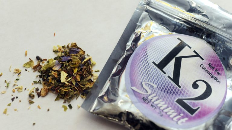 K2, has been available in stores as a mix of dried herbs and spices sprayed with chemicals. It has been blamed for health problems and violent behavior, especially among young people.(AP file photo)