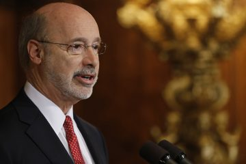 Pennsylvania Gov. Tom Wolf is raising the minimum wage by nearly $3 an hour