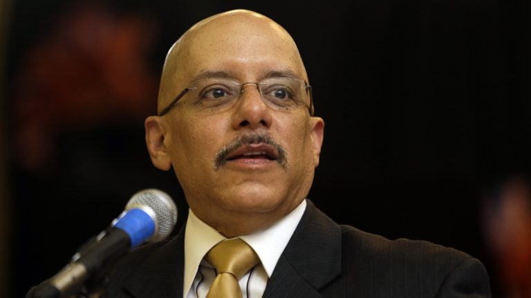 State Sen. Vincent Hughes of Philadelphia said poor results on recent tests make a clear argument for lawmakers to adopt Gov. Tom Wolf's proposal to increase state education funding. (AP file photo)