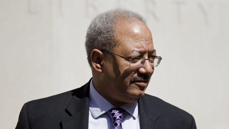 Jury selection begins today in the federal corruption trial of U.S. Rep. Chaka Fattah of Philadelphia. (AP photo/Matt Rourke)