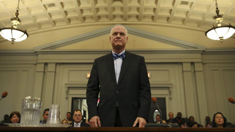 Atlantic City Mayor Don Guardian says he is confident his city can develop a plan to balance its budgets over the next five years. (AP photo/Mel Evans)