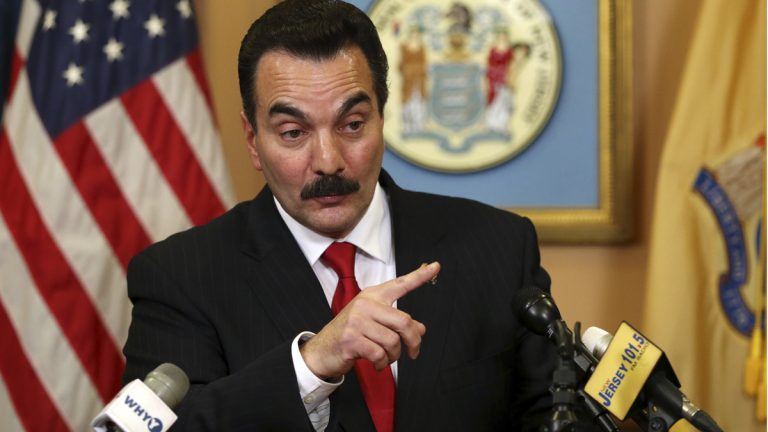 New Jersey Assembly Speaker Vincent Prieto answers a question after canceling the Assembly session when he lost some votes on his Atlantic City takeover bill Thursday. Prieto's bill was originally expected to be voted on Thursday. But Senate President Steve Sweeney is insisting on his own measure