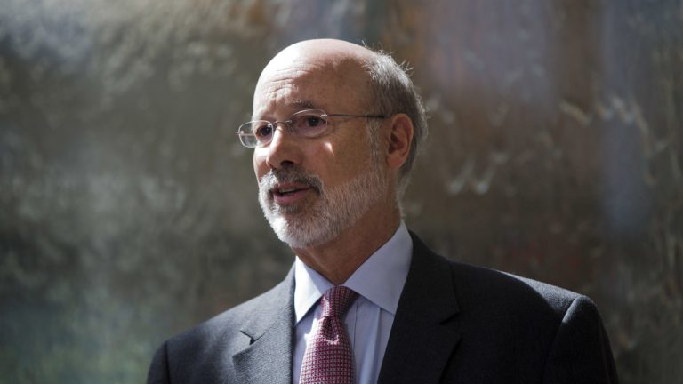 Gov. Tom Wolf says the Pennsylvania Senate decision not to vote on an funding measure will force layoffs and
