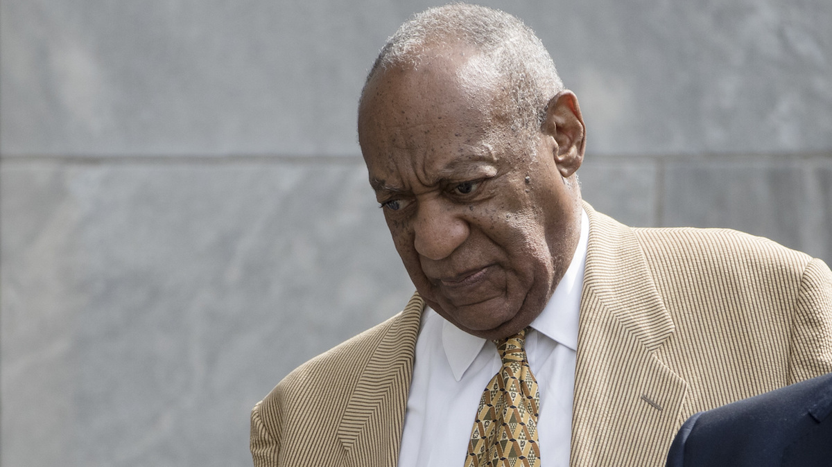 Bill Cosby's lawyers said Tuesday that they would seek to delay his April 2 sexual assault retrial if some of his other accusers are given a chance to testify. (AP Photo/Matt Rourke)