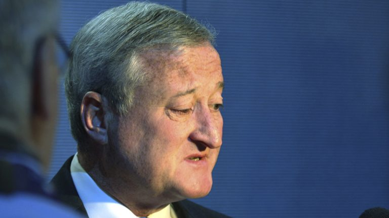 Federal authorities this week sought documents from Philadelphia Mayor Jim Kenney's campaign fund. (AP photo/Dake Kang)