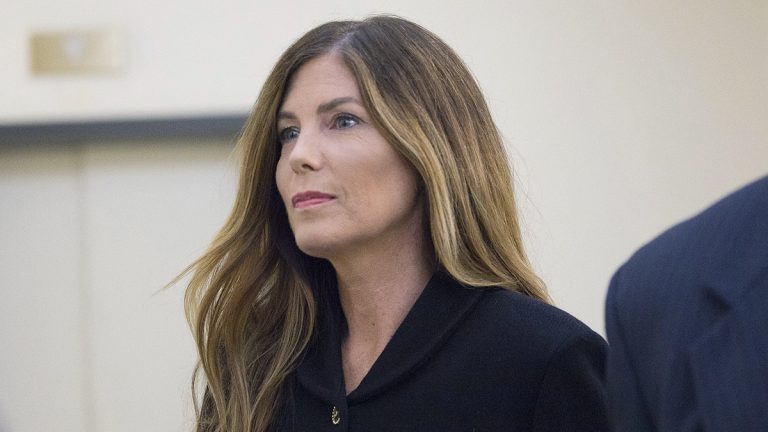 Pennsylvania Attorney General Kathleen Kane will step down Wednesday after she was convicted by a Montgomery County jury of perjury and other charges.(Jessica Griffin/The Philadelphia Inquirer via AP