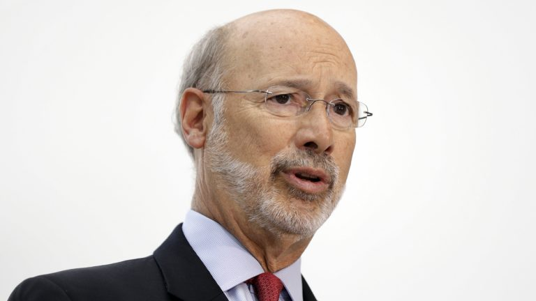 Gov. Tom Wolf has not yet said whether he will sign a measure to change Pennsylvania's public employee pension system. (AP file photo)