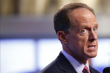 U.S. Sen. Pat Toomey will have a prominent place at the table Wednesday as debate begins on reconciling the House and Senate versions of the GOP tax overhaul plan. (AP file photo)