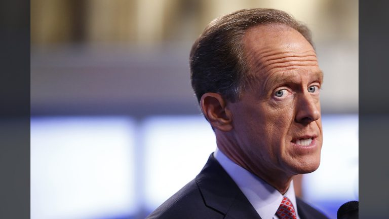 U.S. Sen. Pat Toomey (AP file photo)