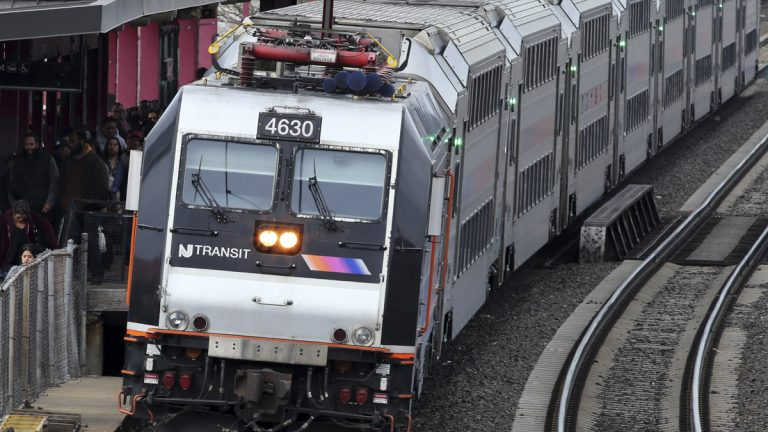 New Jersey Transit officials say halting construction work will not compromise the safety or reliability of its system and it will continue to provide regular service for commuters. (AP file)