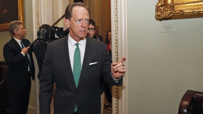 U.S. Sen. Pat Toomey of Pennsylvania has downplayed concerns over Medicaid cuts in the ACA alternative that he helped write. His Democratic colleague, U.S. Sen. Bob Casey, has blasted the plan as