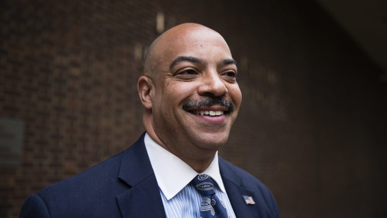 The federal corruption trial of Philadelphia District Attorney Seth Williams is underway. (AP photo/Matt Rourke)