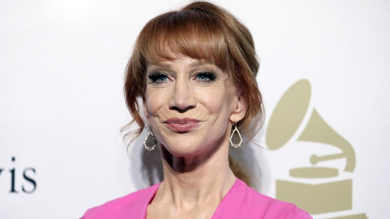 In this Feb. 11, 2017 file photo, comedian Kathy Griffin attends the Clive Davis and The Recording Academy Pre-Grammy Gala in Beverly Hills, Calif. (Photo by Rich Fury/Invision/AP, File)