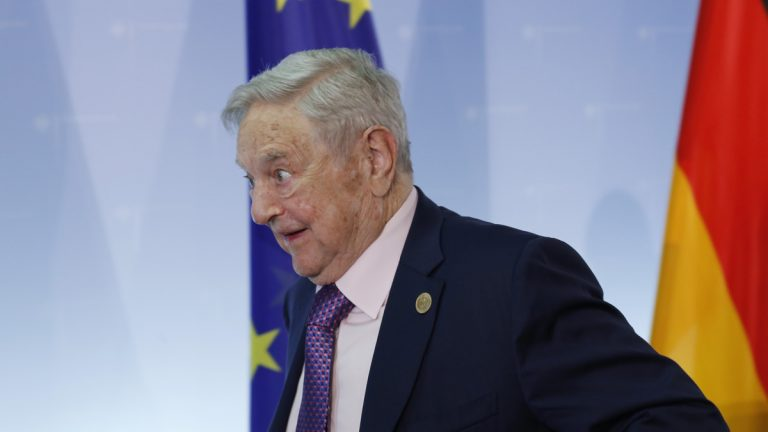 George Soros, a New York hedge fund billionaire and longtime bankroller of liberal political causes.  (Ferdinand Ostrop/AP Photo)