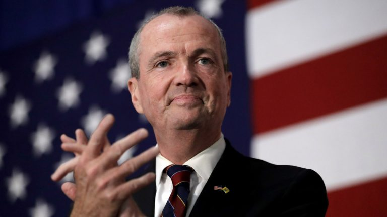 New Jersey Democrat Phil Murphy promises to crack down on deadly violence through gun-control measures if elected governor. (AP file photo)